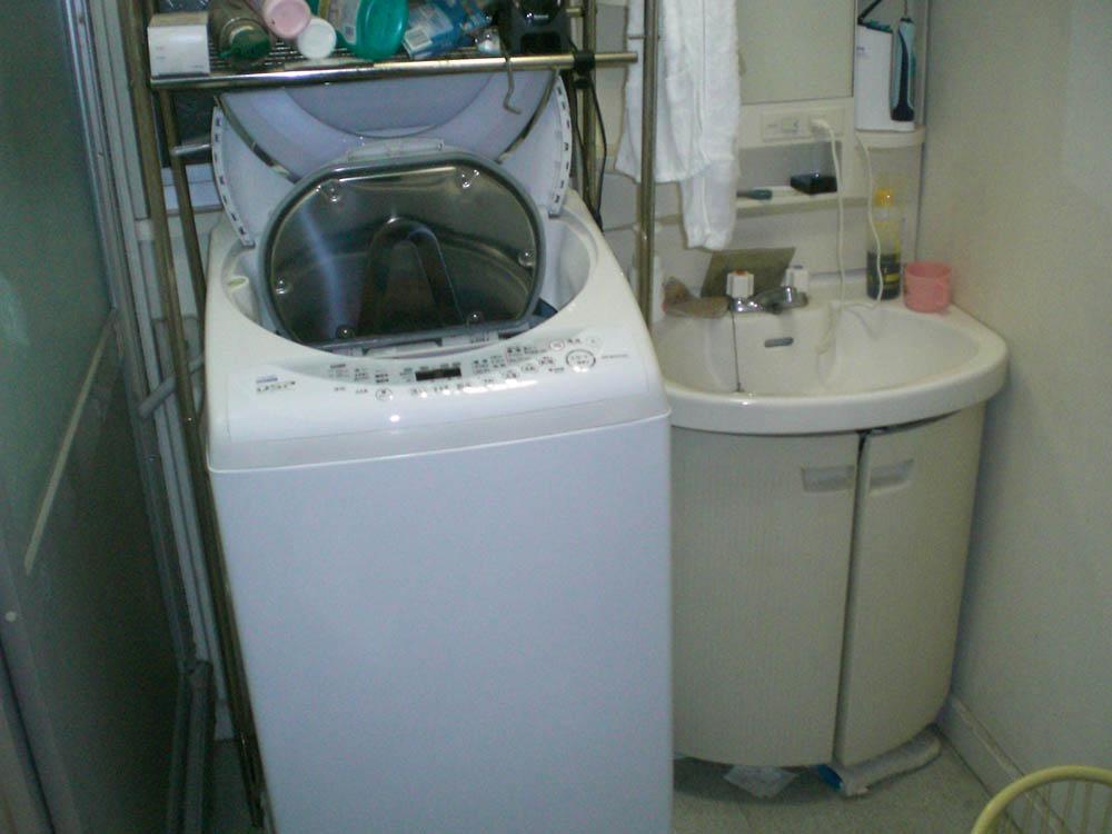 洗面脱衣室のリフォーム前
