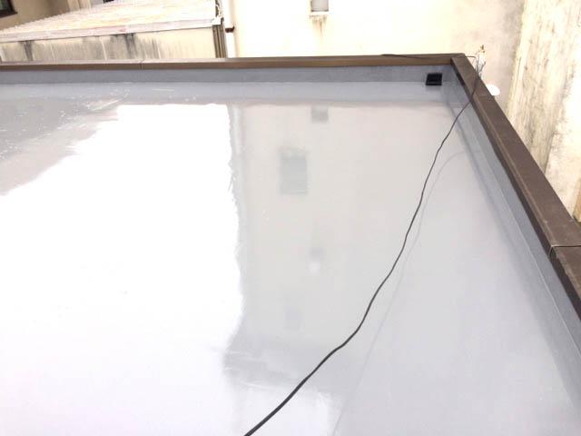 屋上防水工事施工後