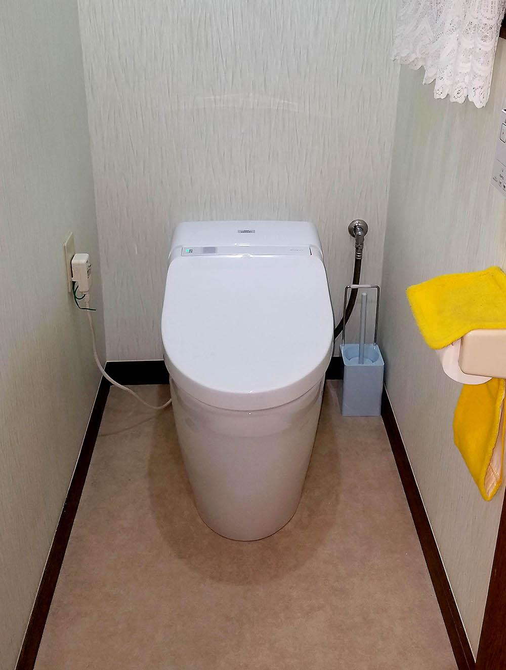 トイレのリフォーム施工後