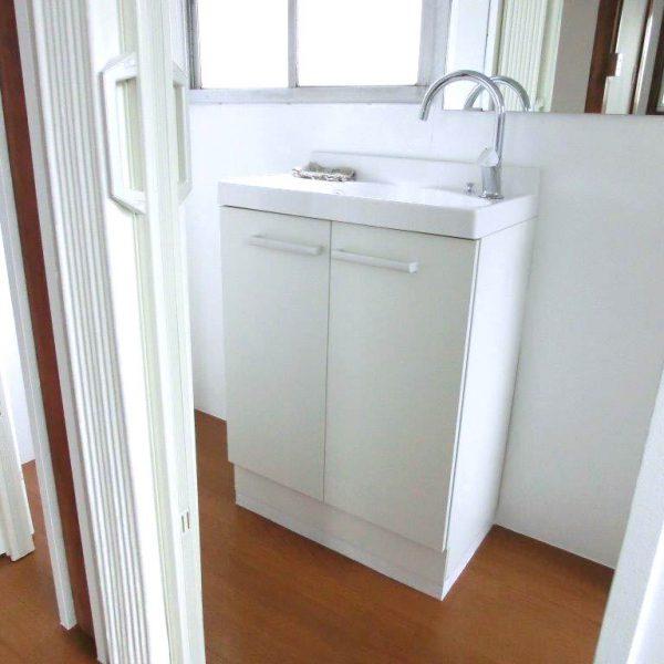 脱衣所と浴室工事施工後