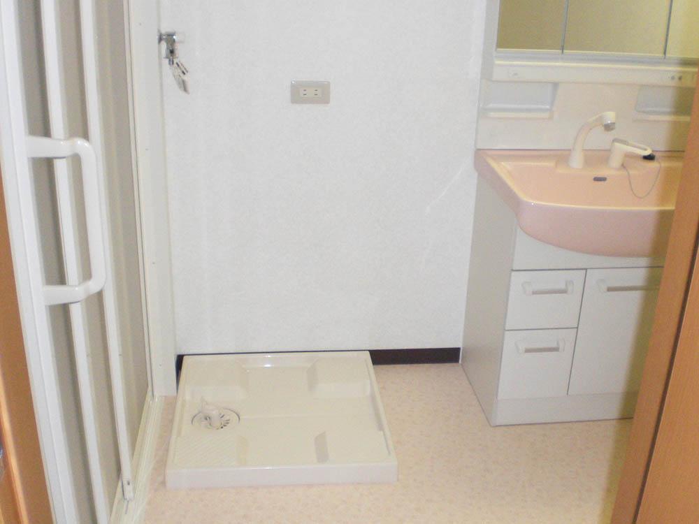 洗面脱衣室のリフォーム後