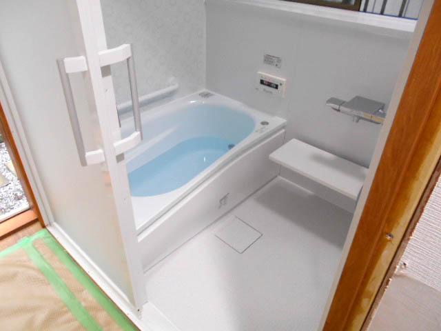 浴室の工事施工後